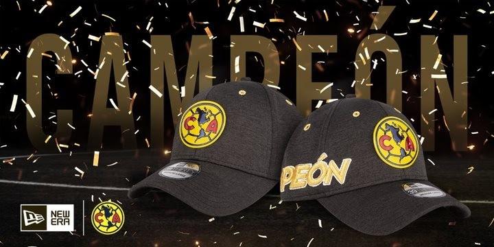 New Era celebra título de América con gorra de Campeón 8dabee87976
